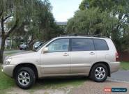 Toyota Kluger CVX 7 seater SUV AWD auto 2004 for Sale