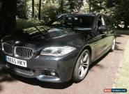 2015 BMW 520D M SPORT AUTO BLACK for Sale