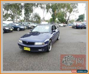 Classic 1999 Mitsubishi Magna TH Sports Blue Automatic 4sp A Sedan for Sale