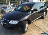 2003 Volkswagen Touareg 7L V6 Luxury Absolute Black Automatic 6sp A Wagon for Sale