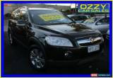 Classic 2009 Holden Captiva CG MY09.5 LX (4x4) Black Automatic 5sp A Wagon for Sale