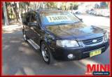 Classic 2005 Ford Territory SX 6SPPED TX 7SEAT AWD Black Automatic A Wagon for Sale