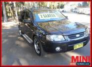 2005 Ford Territory SX 6SPPED TX 7SEAT AWD Black Automatic A Wagon for Sale