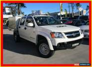 2010 Holden Colorado RC MY10 LX White Manual 5sp M 4D CAB CHASSIS for Sale