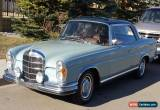 Classic Mercedes-Benz: 200-Series coupe  220 se for Sale