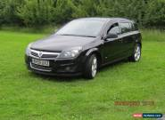 2009 VAUXHALL ASTRA SRI BLACK for Sale