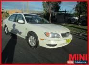 2000 Nissan Maxima White Automatic A Sedan for Sale