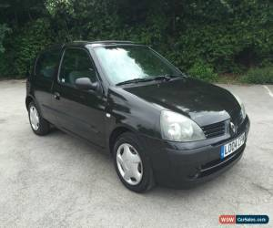 Classic 2004 Renault Clio 1.4 16V Petrol Automatic 12 Month MOT Black Extensive History for Sale