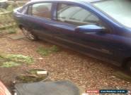 2001 VAUXHALL ASTRA SXI 16V BLUE for Sale