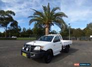 2005 Toyota Hilux KUN26R MY05 SR White Manual 5sp M 2D CAB CHASSIS for Sale
