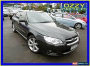 2008 Subaru Liberty MY08 2.5I Luxury Edition Black Automatic 4sp A Sedan for Sale