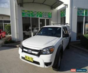 Classic 2009 Ford Ranger PK XL (4x2) White Automatic 5sp A Dual Cab Pick-up for Sale