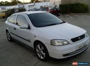 HOLDEN ASTRA SRI 02/2003 5 SPD MAN2 DOOR HATCH COLD AIR POWER STEER CHEAP for Sale