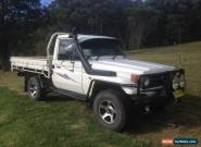 1998 Toyota Landcruiser 75 Series Ute (Serious offers considered) for Sale