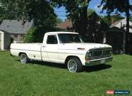 1970 Ford F-100 for Sale