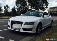 2010 Audi A5 MY11 8T 2.0 turbo No Reserve .!! for Sale