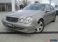 2003 Mercedes Benz E500 4 Door Sedan Automatic 5.0L  for Sale