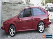 1988 Volkswagen Scirocco 8 valve for Sale