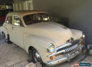 F.J. holden Sedan for Sale