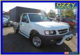 Classic 2001 Holden Rodeo TFR9 LX White Manual 5sp M Cab Chassis for Sale