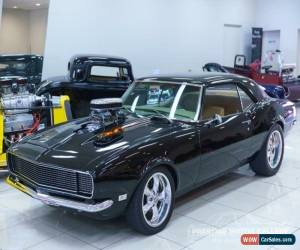 Classic 1968 Chevrolet Camaro SS Black Automatic A Coupe for Sale