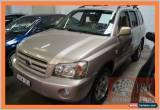 Classic 2005 Toyota Kluger MCU28R CVX (4x4) Gold Automatic 5sp A Wagon for Sale