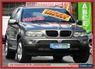 2006 BMW X5 E53 MY06 Upgrade 3.0D Grey Automatic 6sp A Wagon for Sale