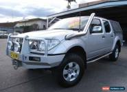 2006 Nissan Navara D40 ST-X (4x4) Silver Automatic 5sp A Dual Cab Pick-up for Sale