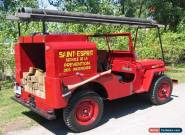 Willys: CJ2A for Sale