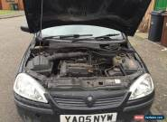 Vauxhall Corsa 1.2 Sxi twinport 2005 Spare Or Repair for Sale