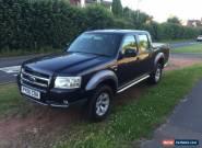2006 FORD RANGER XLT D/C 4WD BLACK/SILVER for Sale