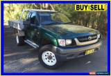 Classic 2002 Toyota Hilux RZN169R (4x4) Green Manual 5sp M Cab Chassis for Sale