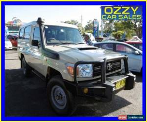 Classic 2012 Toyota Landcruiser VDJ79R MY12 Update Workmate (4x4) Beige Manual 5sp M for Sale