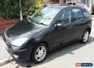 Ford Focus Zetec Black 2001 Petrol 1.6 for Sale