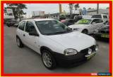 Classic 1998 Holden Barina SB City White Manual 5sp M Hatchback for Sale