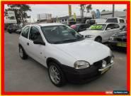 1998 Holden Barina SB City White Manual 5sp M Hatchback for Sale