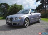 AUDI A4 CONVERTIBLE TFSI S LINE, FULL MOT, SOFT TOP CABRIOLET, LOW RESERVE! for Sale