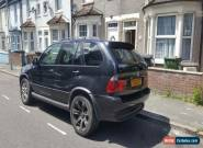 2006 BMW X5 SPORT D AUTO BLACK SPARES OR REPAIR DRIVE AWAY  for Sale