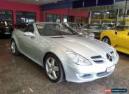 2005 Mercedes-Benz SLK350 Roadster Silver Automatic A Convertible for Sale