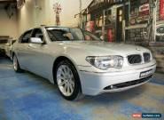 2003 BMW 745Li E66 Steptronic Silver Automatic 6sp A Sedan for Sale