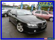 2005 Holden Commodore VZ SSZ Black Automatic 4sp A Sedan for Sale