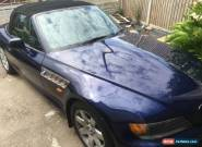 1998 BMW Z3 BLUE 1.9 Montreal Blue becoming Classic Car Project for Sale