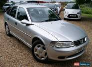 1999 VAUXHALL VECTRA LS 16V SILVER 1.8i PETROL for Sale