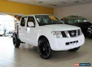 2013 Nissan Navara D40 S8 RX White Manual 6sp M Utility for Sale
