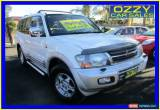 Classic 2000 Mitsubishi Pajero NM Exceed LWB (4x4) White Manual 5sp M Wagon for Sale