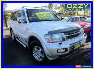 2000 Mitsubishi Pajero NM Exceed LWB (4x4) White Manual 5sp M Wagon for Sale