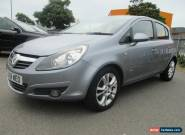 2008 VAUXHALL CORSA SXI A/C CDTI.=CAT C=SPARES OR REPAIRS for Sale
