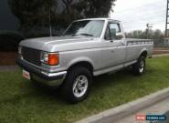 1992 Ford F250 Utility Silver Automatic A for Sale