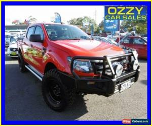 Classic 2013 Ford Ranger PX XL 3.2 (4x4) True Red Automatic 6sp A Dual Cab Utility for Sale