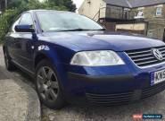 VW Passat Sport 20V Turbo 2002 LPG for Sale